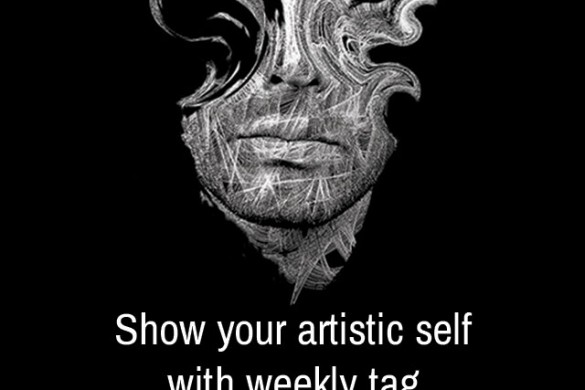 Share an Artistic Selfie with Our Weekly Tag #artisticselfie