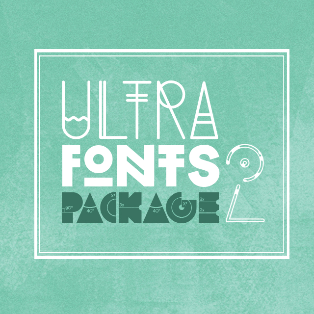 ultra fonts 2 package