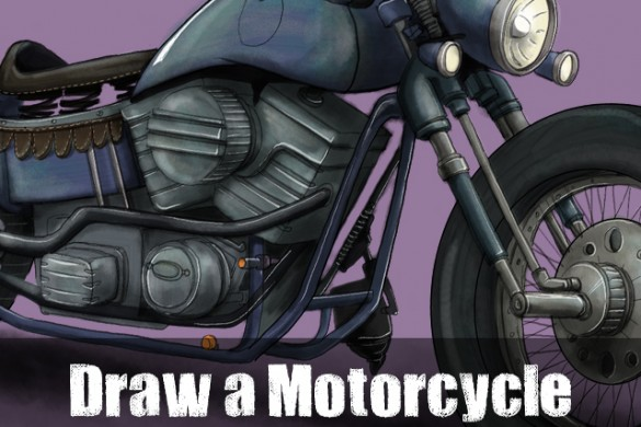Rev Up for the Motorcycle Drawing Challenge