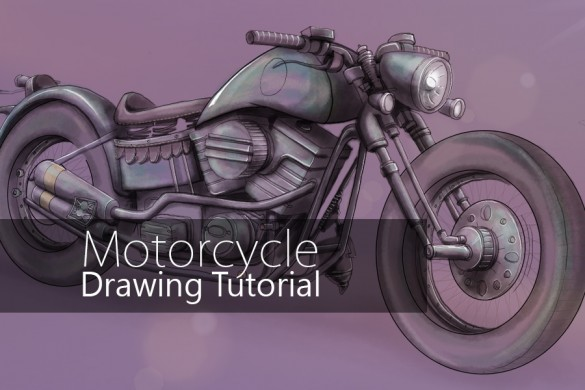 Tutorial: How to Draw a Motorcycle with PicsArt Drawing Tools