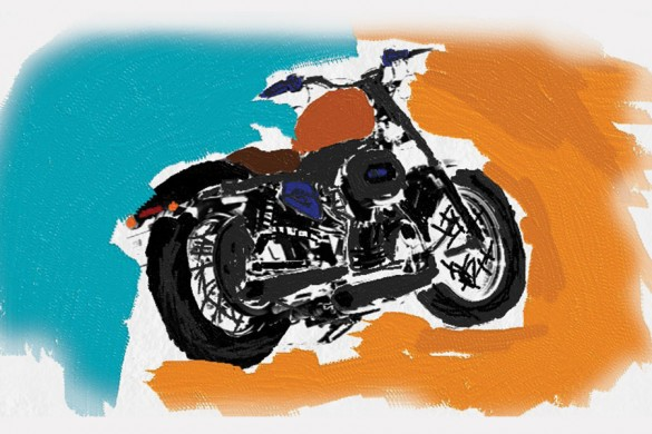 Top 10 Bikes from the Motorcycle Drawing Challenge