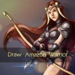 Draw Amazon warrior women