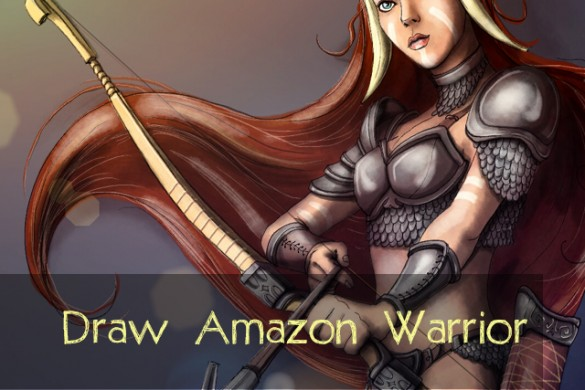 Draw Amazon Warrior Women for the Drawing Challenge