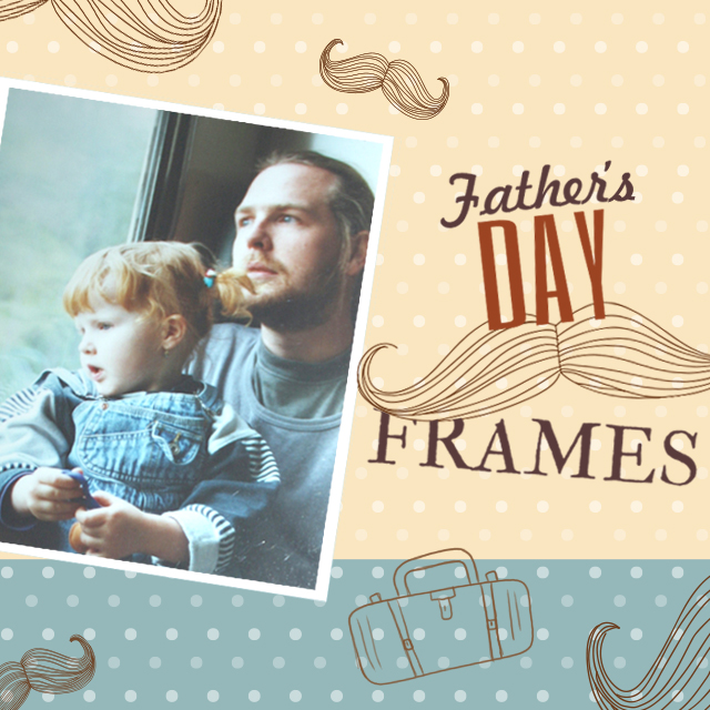 father's day frames package