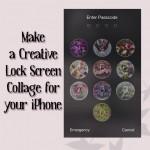 Make creative iPhone lock screen
