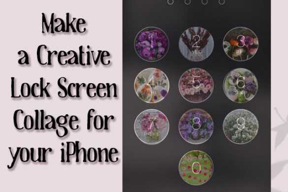 Make A Creative Iphone Lock Screen Collage Create Discover With