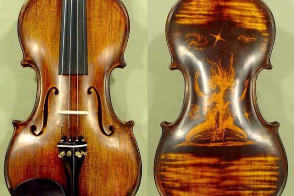 Users Capture the Soul of an Instrument: Gallery of Violins