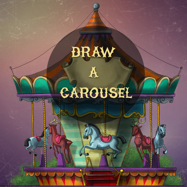 carousel drawing contest