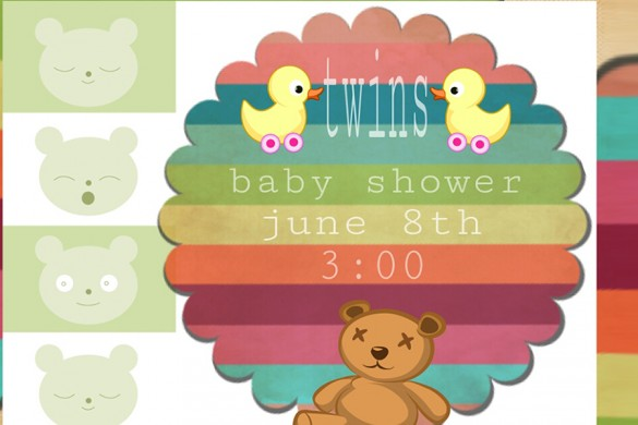 10 Winning Baby Shower Invitation Designs from the Graphic Design Contest