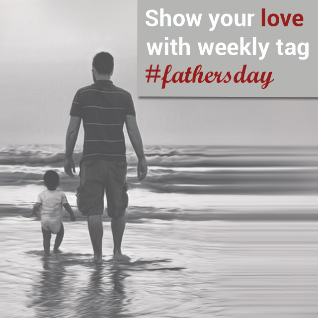 father's day trending photo tag