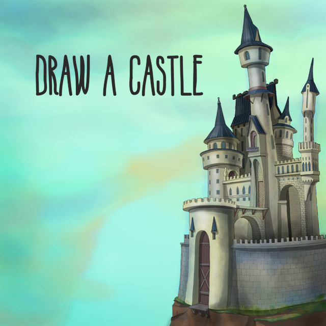castle drawing contest