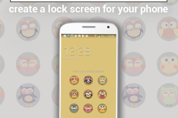 Design a Lock Screen for the Graphic Design Contest!