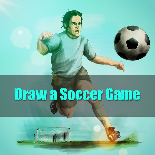 draw soccer game