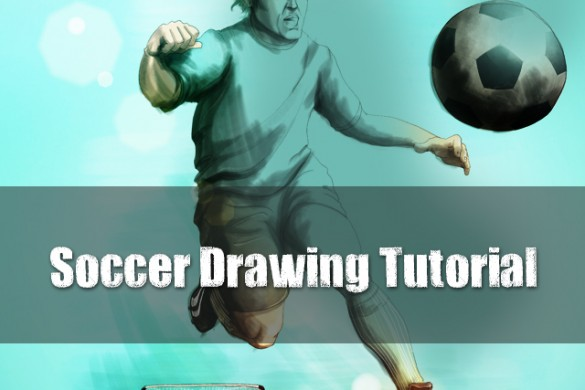 How to Draw a Soccer Scene with PicsArt Drawing Tools