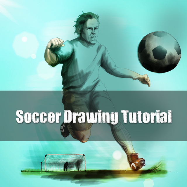 How to Draw a Soccer Scene with PicsArt Drawing Tools - Create +