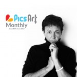 Jason Bell on picsart monthly magazine