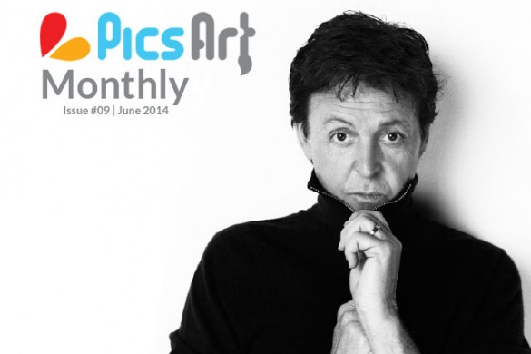 Read the June Issue of PicsArt Monthly Art Magazine!