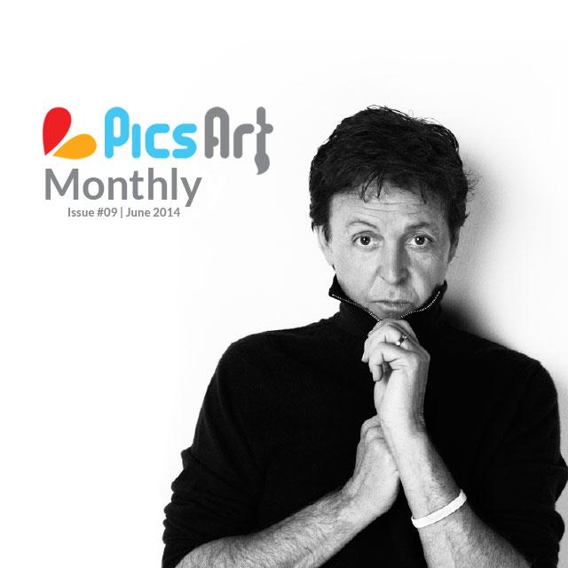 Jason Bell on picsart monthly magazine