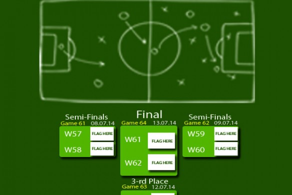 Download Our Free 2014 World Cup Brackets Package!