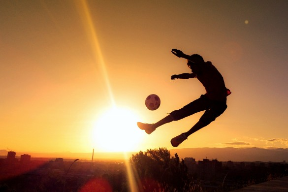 Users Share their Love of Soccer (football) with Photography