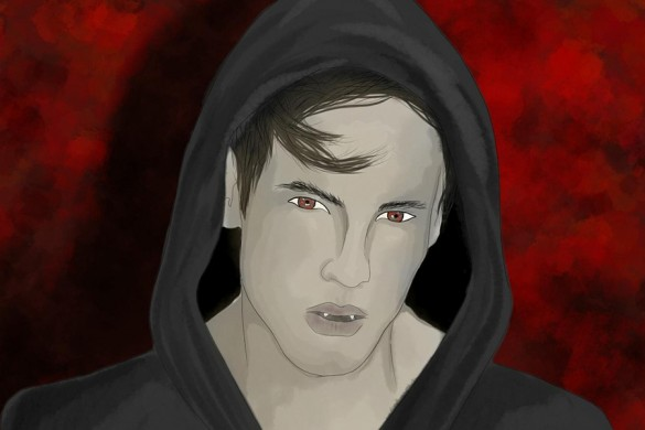 10 Amazing Winning Vampire Drawings from the Drawing Challenge