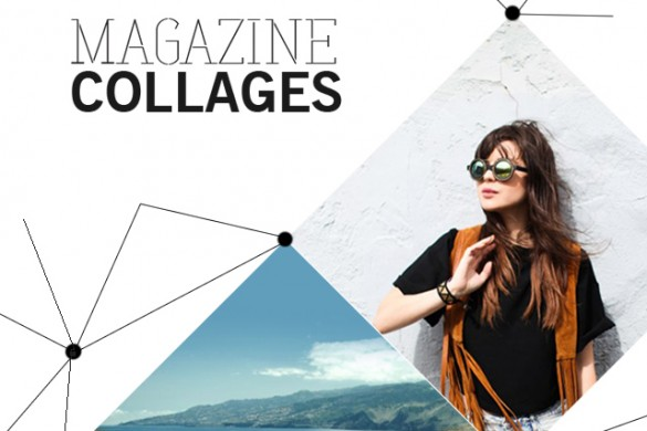 New Magazine Collages! Create a Pro Magazine Cover Instantly
