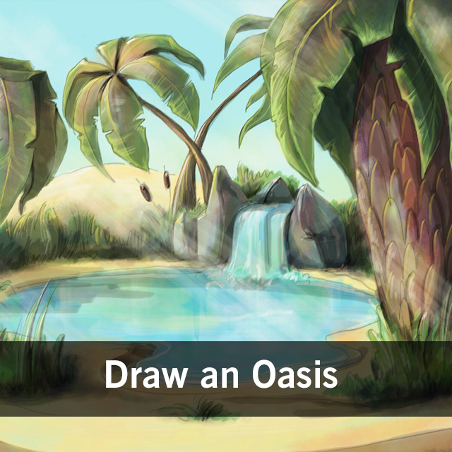 oasis drawing contest