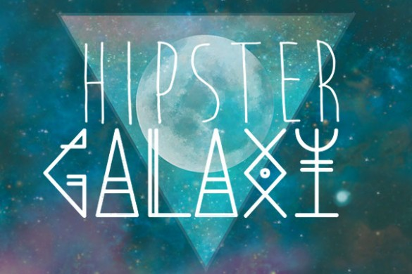Hipster Galaxy ClipArt Offers up Cosmic Coolness