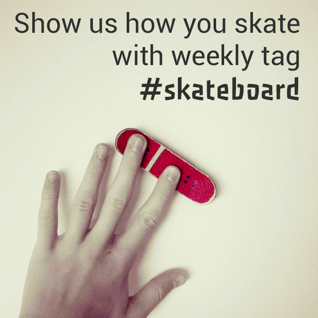 skateboard weekly tag
