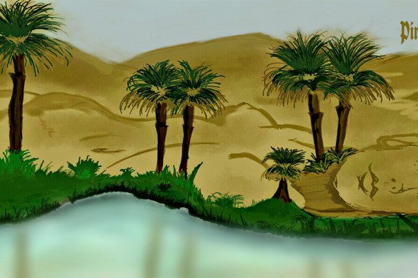 Top 10 Desert Oases from the Drawing Challenge