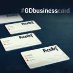 Picsart business cards for graphic design challenge