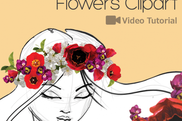 How to Decorate Your Drawings with Flower Clipart
