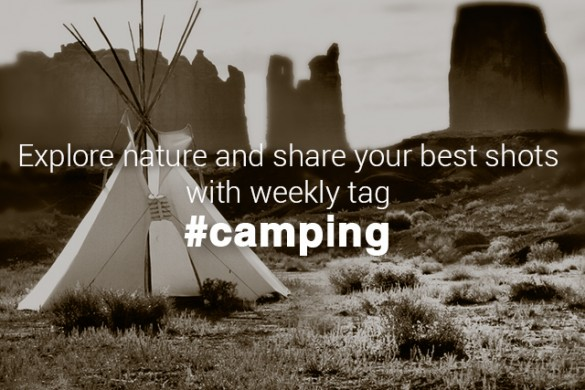 Pitch a Tent at PicsArt & Share Your Camping Experiences with #Camping