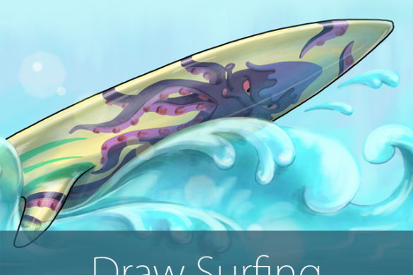 Surfs Up! Join our Surfing Drawing Challenge!