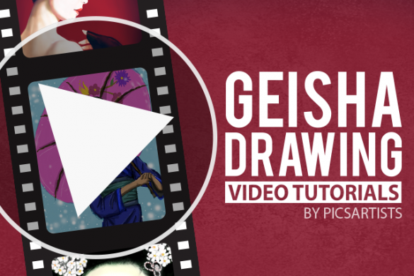 Watch Users' Video Tutorials from the Geisha Drawing Challenge