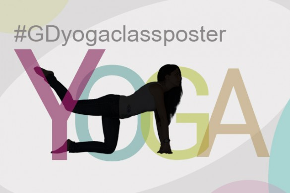 Design a Yoga Class Poster for the Graphic Design Contest