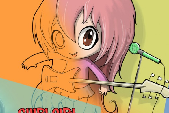 How to Draw A Chibi Girl with PicsArt