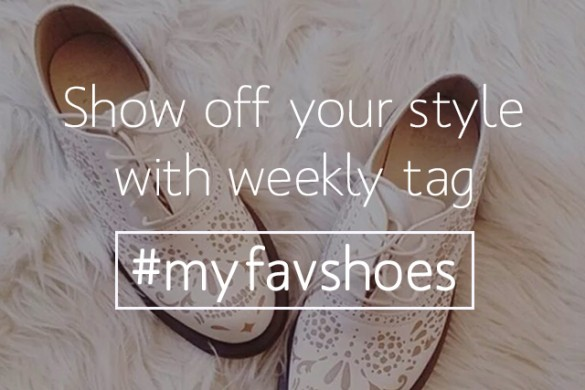 Show Off Your Kicks All Week with #myfavshoes
