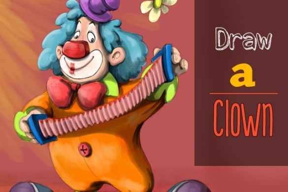 Draw a Clown for This Week's Drawing Challenge