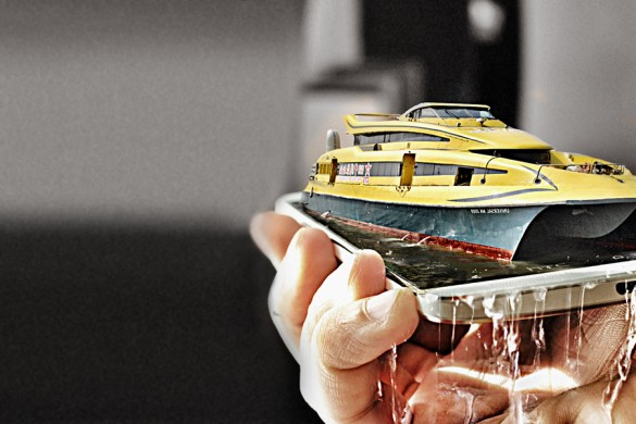 Paolo Morucci Shares How to Drop a Cruise Ship Onto Your Phone!