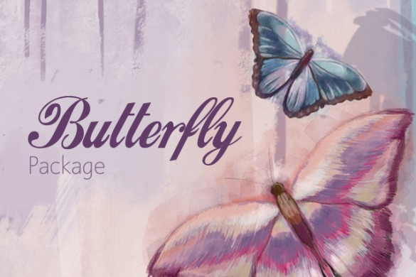 New Clipart! Add 47 Kinds of Butterflies to Your Photos