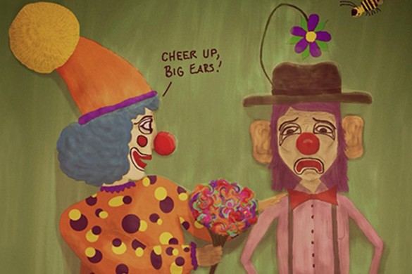 Winning 10 Drawings from the Clown Drawing Challenge