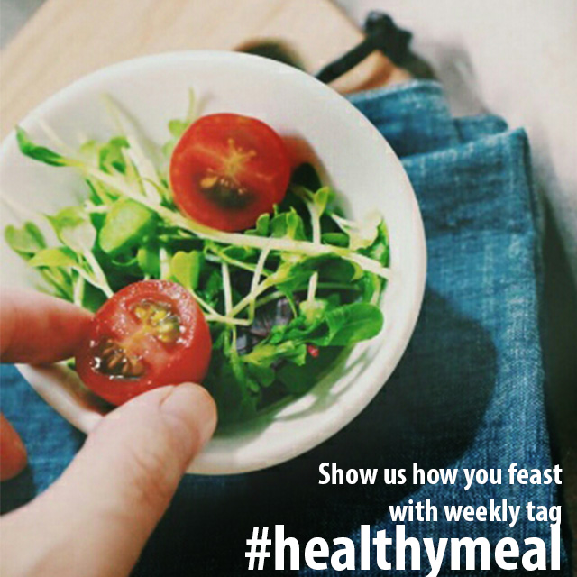 Delicious healthy food in the bowl