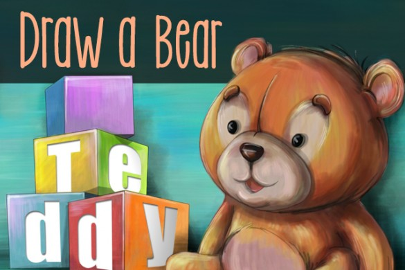 Enter the Teddy Bear Drawing Challenge