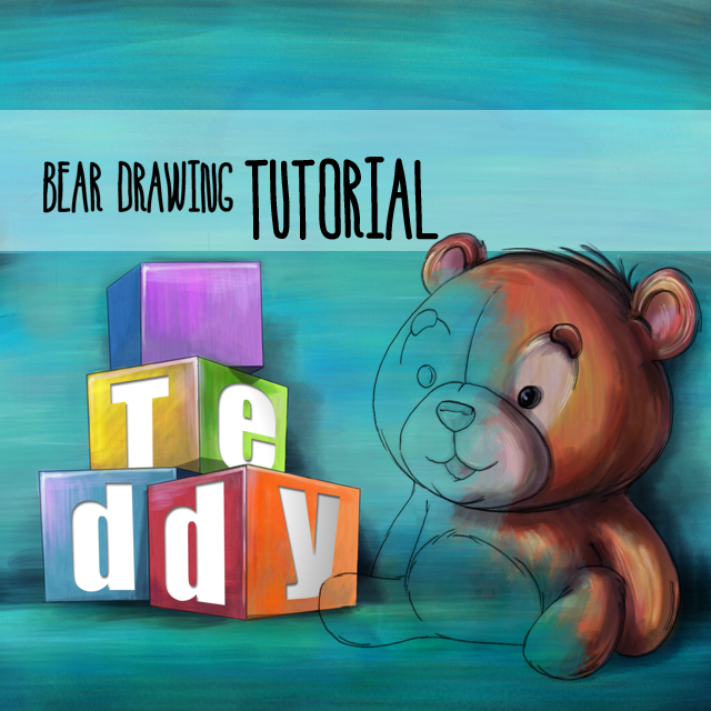 How to Draw a Teddy Bear on PicsArt