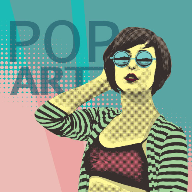 pop art clipart package