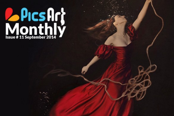 The September Issue of PicsArt Monthly is Here