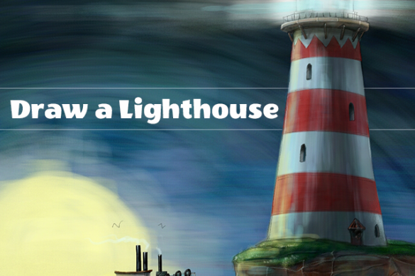 Draw a Lighthouse with PicsArt, Enter the Drawing Challenge
