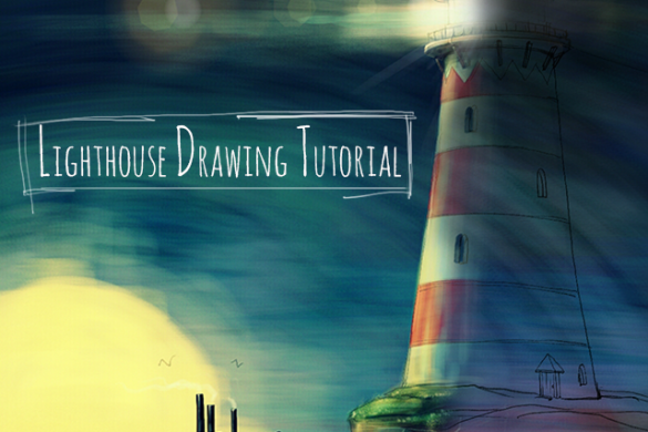 Step by Step Tutorial: How to Draw a Lighthouse with PicsArt