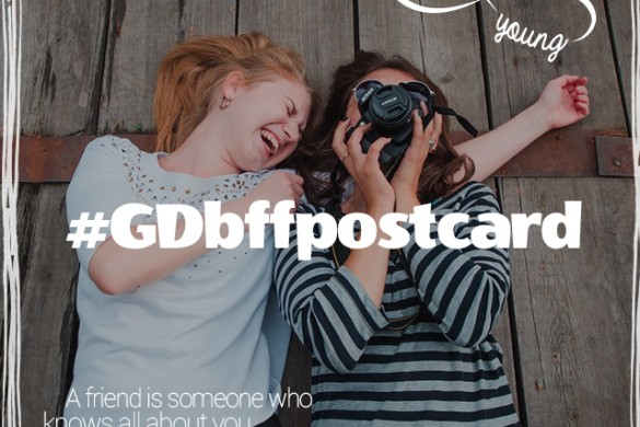 Share a Postcard of You and Your Best Friend Forever for Graphic Design Challenge